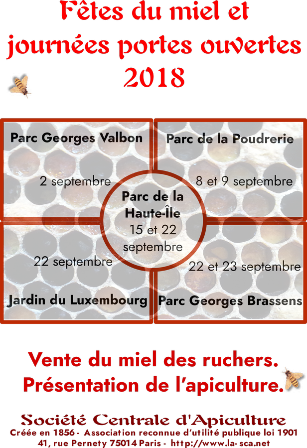 fêtes du miel 2018